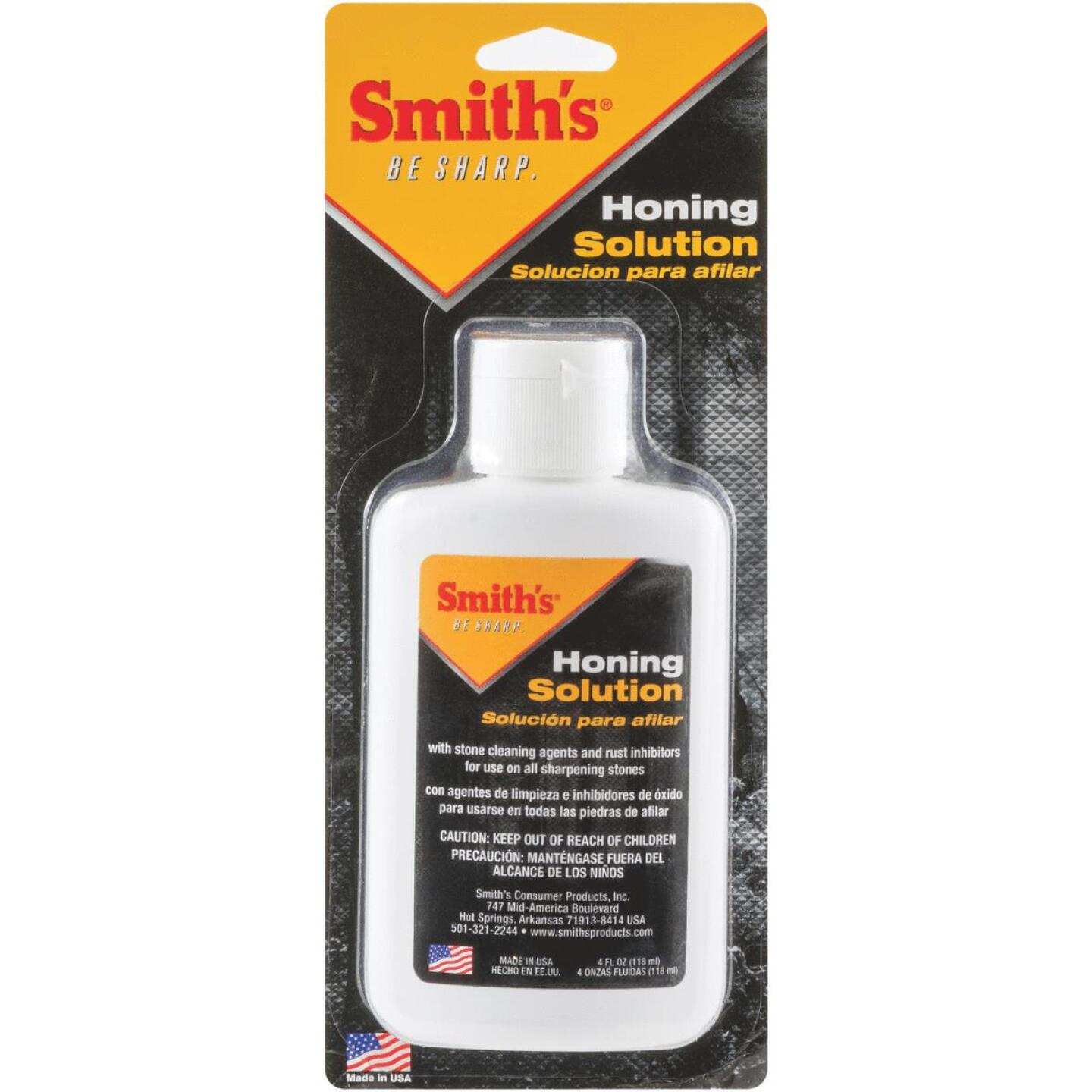 Smith's 4 Oz. Honing Oil Solution Image 1