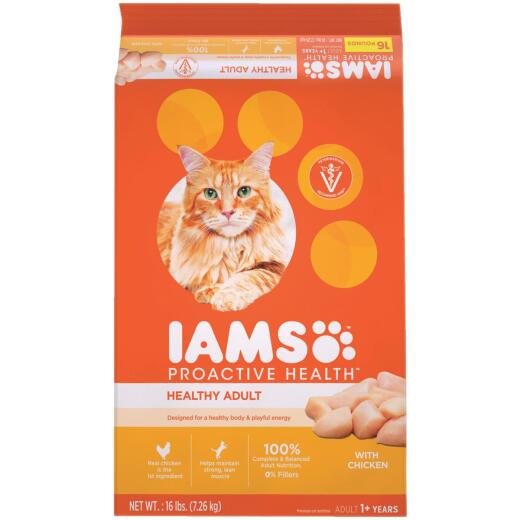 Iams Proactive Health 16 Lb. Adult Cat Food