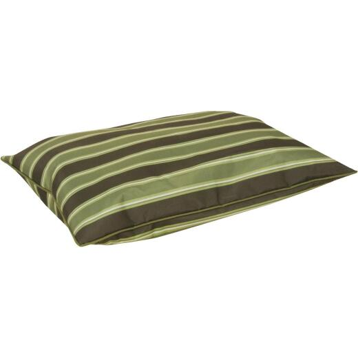 Petmate Aspen Pet 36 In. W. x 6 In. H. x 27 In. L. Recycled Polyester Chew Resistant Dog Bed