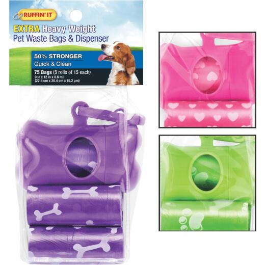 Westminster Pet Ruffin' it Pet Waste Bags & Dispenser