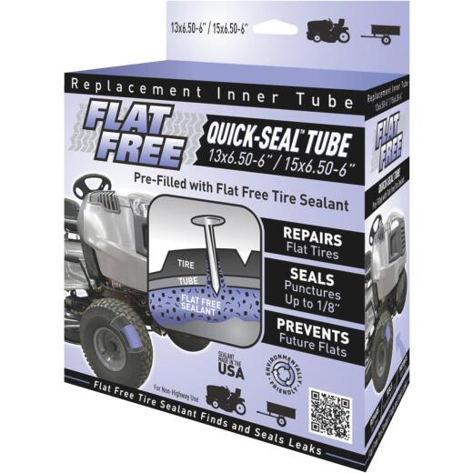 Flat Free Sealant Filled 6 In. Lawn Mower Tire Inner Tube