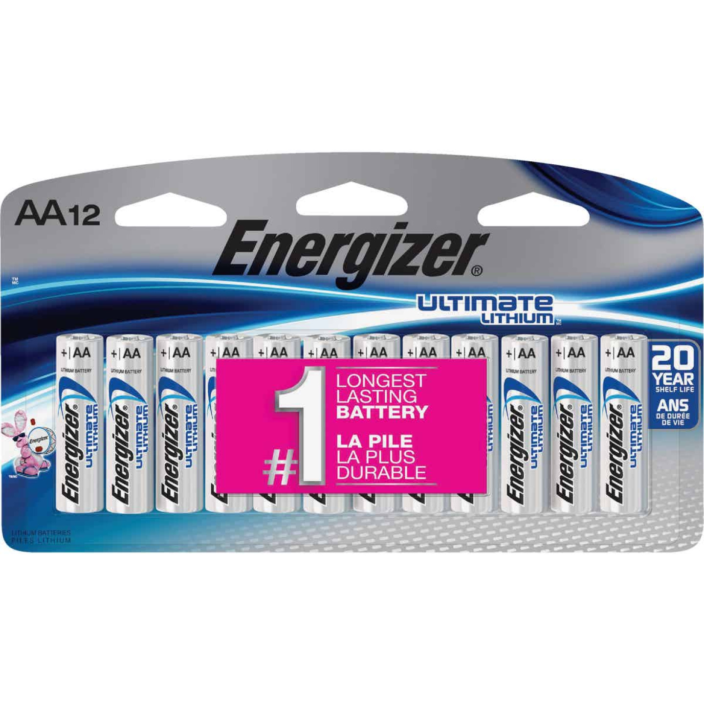 Energizer AA Ultimate Lithium Battery (12-Pack) Image 1