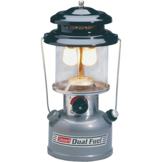 Coleman Dual 13 In. Gray Liquid Fuel Lantern
