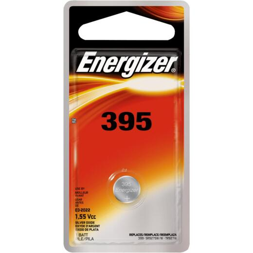Energizer 395 Silver Oxide Button Cell Battery