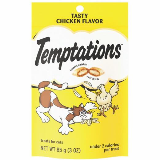 Pedigree Temptations Tasty Chicken 3 Oz. Cat Treat