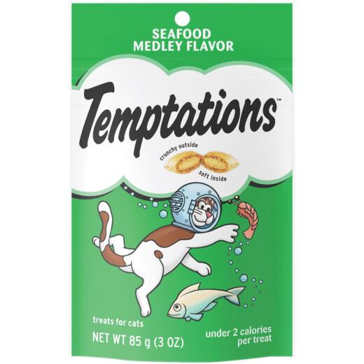 Pedigree Temptations Seafood Medley 3 Oz. Cat Treat
