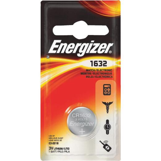 Energizer 1632 Lithium Coin Cell Battery