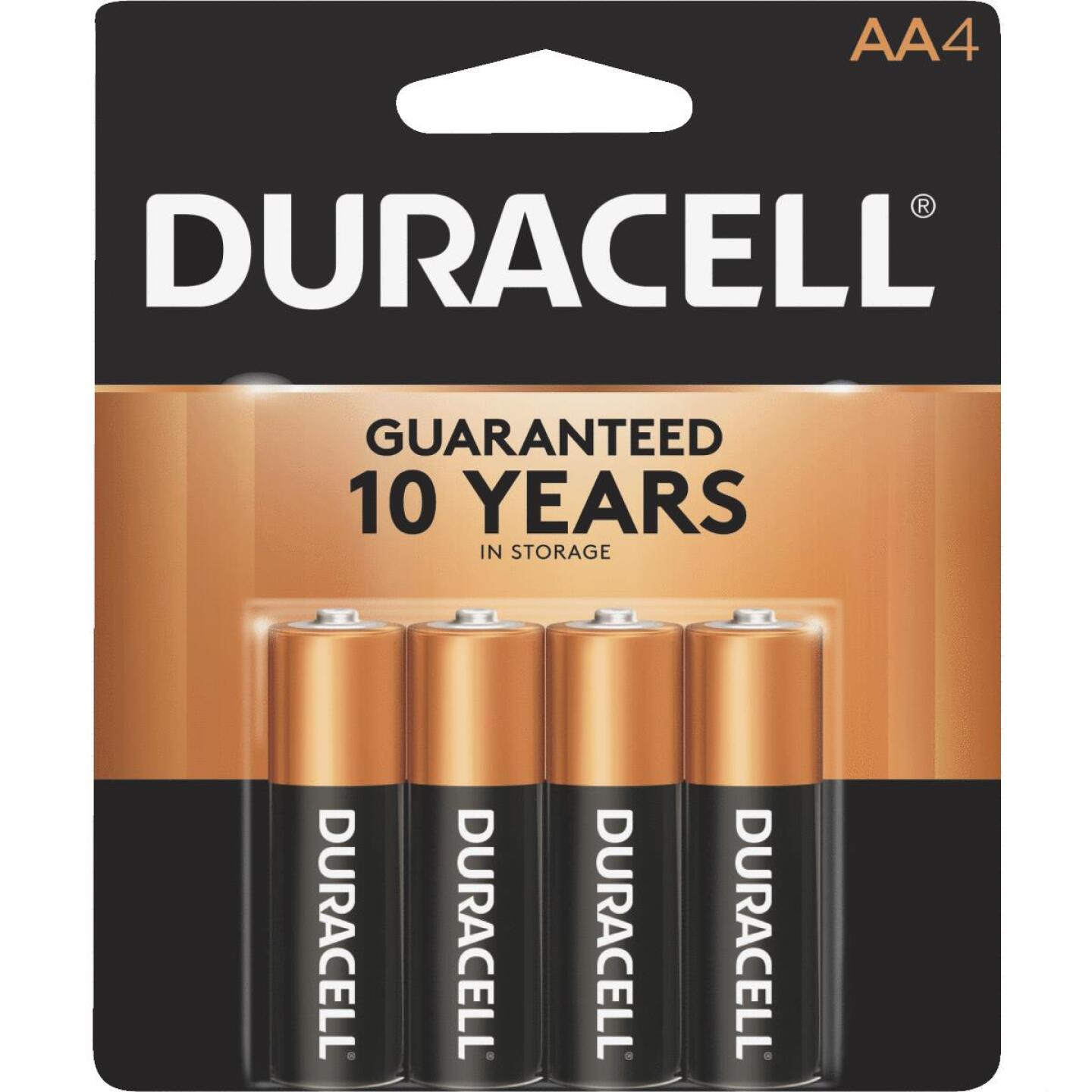 Duracell CopperTop AA Alkaline Battery (4-Pack) Image 1