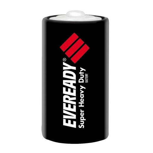 Eveready Super Heavy Duty D Carbon Zinc Battery (2-Pack)