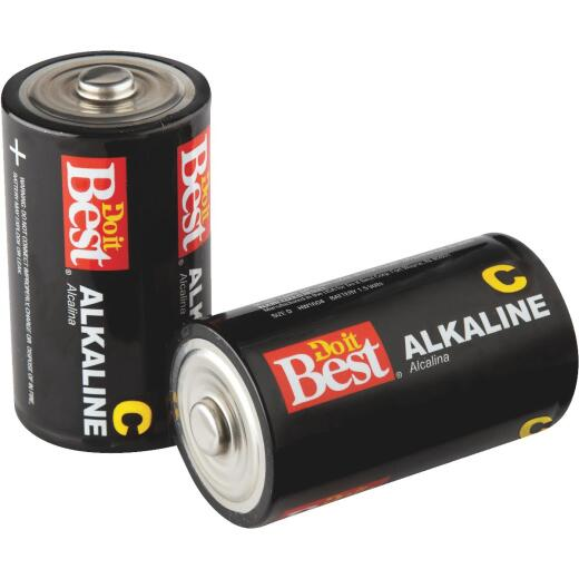 Do it Best C Alkaline Battery (2-Pack)