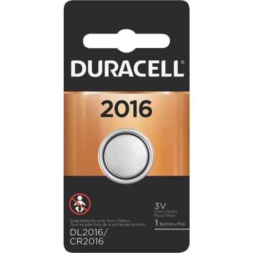 Duracell 2016 Lithium Coin Cell Battery