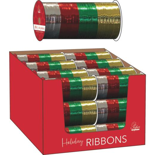 Paper Images 100 Ft. L. 4-Color Traditional Curling Ribbon