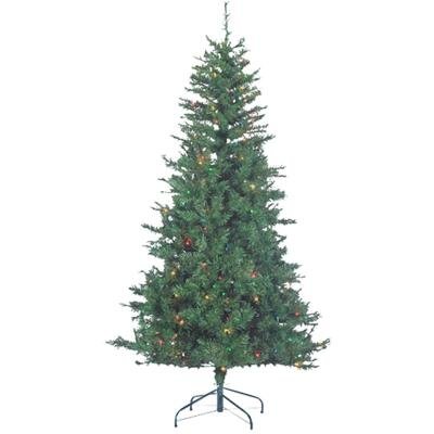 Sterling 6 Ft. Colorado Spruce 250-Bulb Multi Incandescent Prelit Artificial Christmas Tree