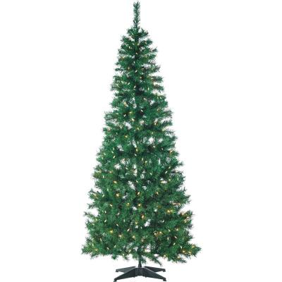 Gerson 6 Ft. Green Fir Pop-Up Christmas Tree