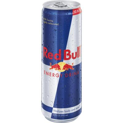 Red Bull 12 Oz. Original Flavor Energy Drink