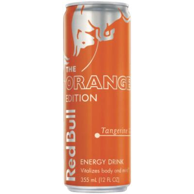 Red Bull 12 Oz. Tangerine Flavor Energy Drink