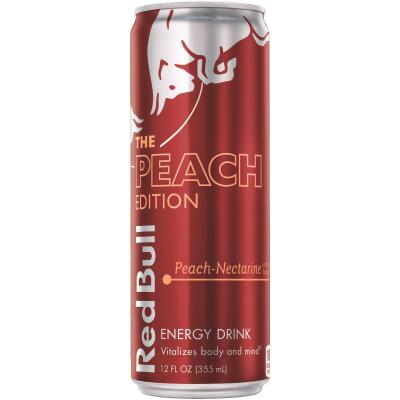 Red Bull 12 Oz. Peach Flavor Energy Drink